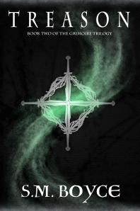 Treason (Grimoire Trilogy #2) (PNG)