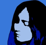 Blue Outline Girl